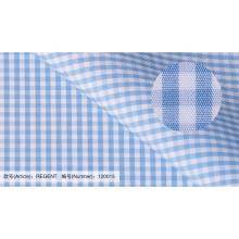 Проверка 100% хлопчатобумажная ткань для рубашек поставщика Китая
