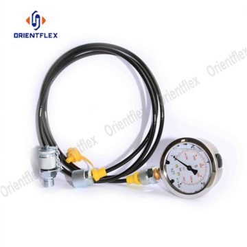 dn2 * 5mm 63 bar Hydraulic Test Hose Assembly