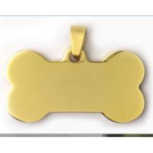 Tag novo do cão do nfc da fonte do pendente chinês da etiqueta do cão da forma do Tag do animal de estimação da forma do osso do projeto