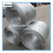 Alambre de carbono / Bwg22 electro galvanizado hierro alambre precio / construcción vinculante alambre