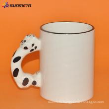 sublimation Animal blank mug cat