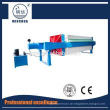 1250 Automatische Kammerfilterpresse, Filterpressenausrüstung
