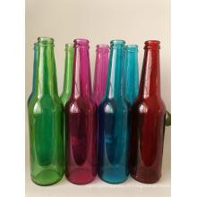 330ml 500ml garrafa de vidro de bebida, garrafa de cerveja, frasco de suco de vidro