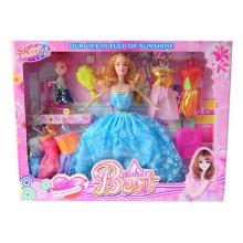 11 pulgadas de plástico lindo niña muñeca de juguete
