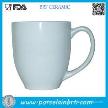 White Custom Printed Porcelain Coffee Mug