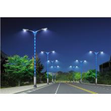 Support de lampe de rue LED intégré