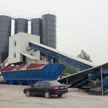 Бетонный завод с усовершенствованным скипом HZS120 малайзия