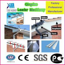 Máquina de extrusão de calhas de água de chuva de PVC