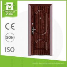 Diseño de puertas de seguridad. Catálogo de puertas de seguridad de acero.