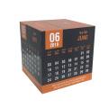 OEM Custom photo print advertising Promotional Toy magnetic Magic Cube Calendar