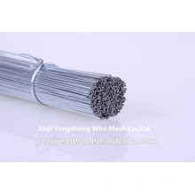 galvanized straight cut steel wire as binding wire
