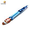 Private label color strip eyelash tweezers extension