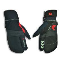 Армия зеленый PU спортивные перчатки горные Велоспорт перчатки Анти-скольжения перчатки