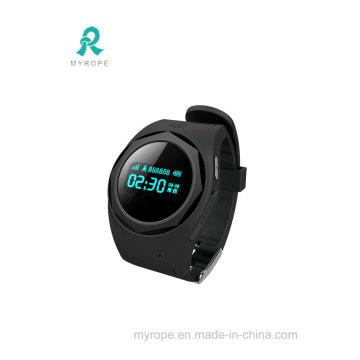 2017 El nuevo teléfono elegante del reloj embroma el perseguidor mayor del GPS del reloj del Anti-Perdido