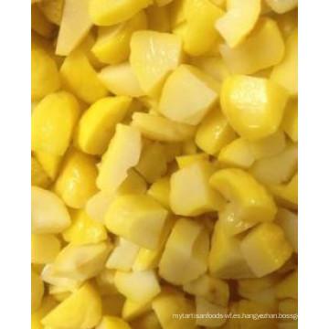 Precio de castaña congelada IQF por kg