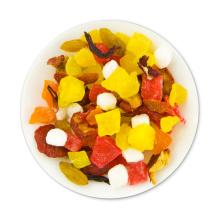 Roselle Hawthorn Melón de invierno Kiwi Papaya Hami Melón Piña Mezcla de té de frutos secos