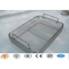stainless steel sterilizing wire mesh basket