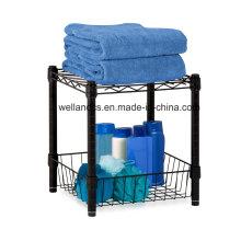 Banheiro Banheiro de aço inoxidável armazenamento Rack (CJ452543C2E)