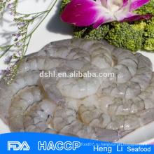 Очищенные очищенные vannamei белые креветки