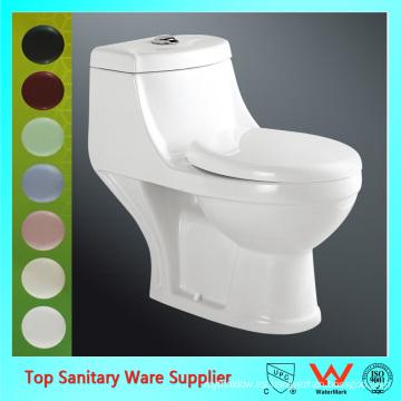 Traje de sanitario de baño de una sola pieza inodoros fabricantes china