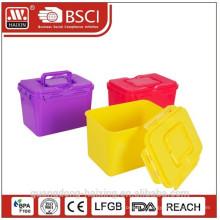 BPA libre impression complet du conteneur entreposage en plastique promotion