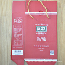 Oil Packaging Bag/Paper Shopping Bags with Handle