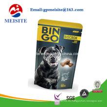 Colorido Embalaje Plástico Limitado Subiendo Bolsas para Alimentos para Mascotas Bolsas para Alimentos para Perros