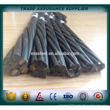 Low price high tensile 1860mpa pc strand