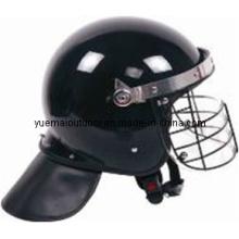 Ar-15 Hochwertige Polizei Anti-Riot Helm mit Metallgitter