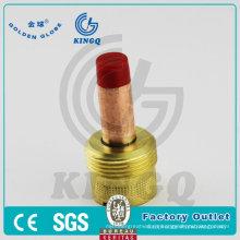 Piezas de la antorcha de soldadura Kingq Lente de gas para Wp18 / 45V / 995795