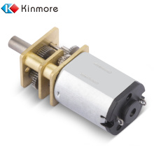 Motor de engranaje de CC de tamaño mini 12FN20 de alta calidad de 3 voltios, motor de engranaje de 12 mm, motores de CC, motor de engranaje de bajo ruido de CC de 6 V
