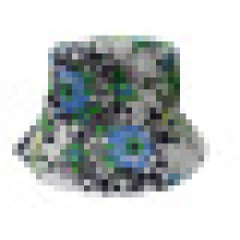 Bucket Hat with Floral Fabric (BT045)