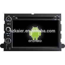 2 din android 4.2 système de divertissement de voiture double noyau stable pour Ford Explorer / Expedition / Mustang / Fusion avec GPS / Bluetooth / TV / 3G