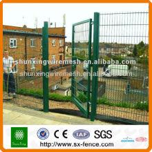 metal wire mesh garden fence gate
