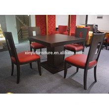 2016 new design wooden restaurant tables and chairs prices XYN2656