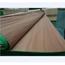 chapa de madera recon. chapa de birmania para madera contrachapada y reconstitución de muebles chapa de cara gurjan