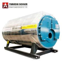 Caldeira de vapor de óleo residual de tubo de fogo horizontal