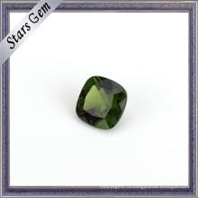 Яркий Оливково-Зеленый Высший Сорт Естественная Диопсид Камень