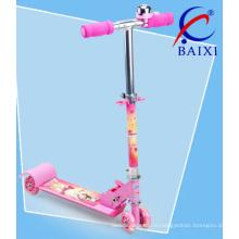 Розовый самокат для малышей (ВХ-4M001)