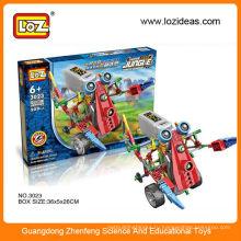 LOZ 3 в 1 Игральные электрические блоки робота 3023