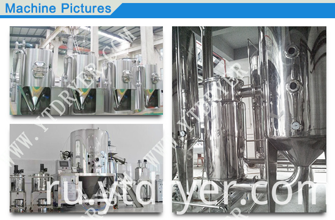 ZPG Series Chinese Herbal Medicine Extract Spray Dryer
