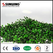 Низкая Цена Искусственный Пластиковый Листья Бамбука Самшит Хедж Конфиденциальности