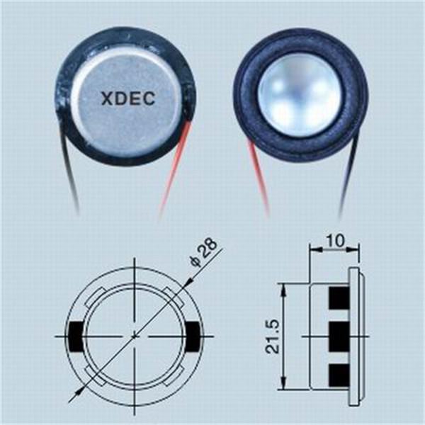 28mm Mini Bluetooth Speaker