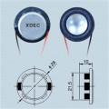 Dynamische 28-mm-Bluetooth-Lautsprechereinheit mit voller Reichweite