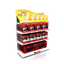 shelves standing supermarket floor for computer racks phone accessories display