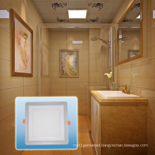 LED Spotlight/Aluminum High Lumen Double Color Square COB Light