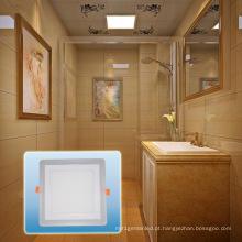Projector do diodo emissor de luz / luz alta de alumínio da ESPIGA do quadrado da cor do dobro do lúmen
