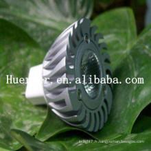 Hot Selling100LM MR16 GU10 1w a mené des projecteurs