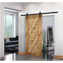 Doorwin простая дверь из тикового дерева конструирует дверь сарая для дома