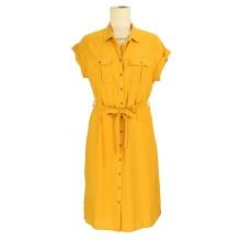 Wholesale office lady wear custom clothing women tie dye ladies fashion blazer shirt midi dress
